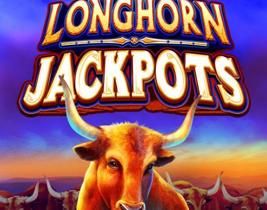 Play Longhorn Jackpots slot at BetRivers online casino