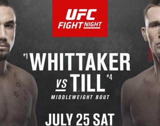 UFC on ESPN 14: Whittaker vs. Till