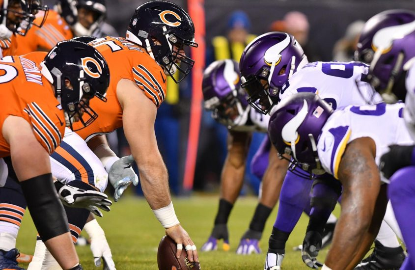 Bears-Vikings Week 10 Odds