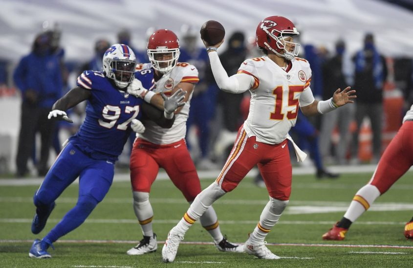 Chiefs-Bills Playoff Odds