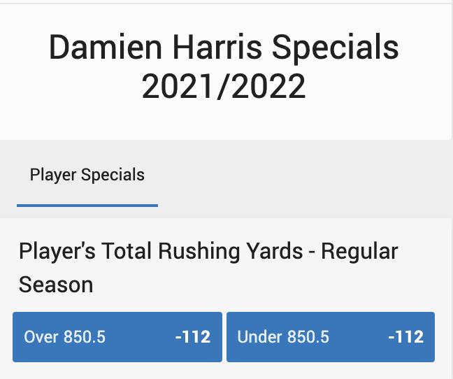 Spesial Damien Harris