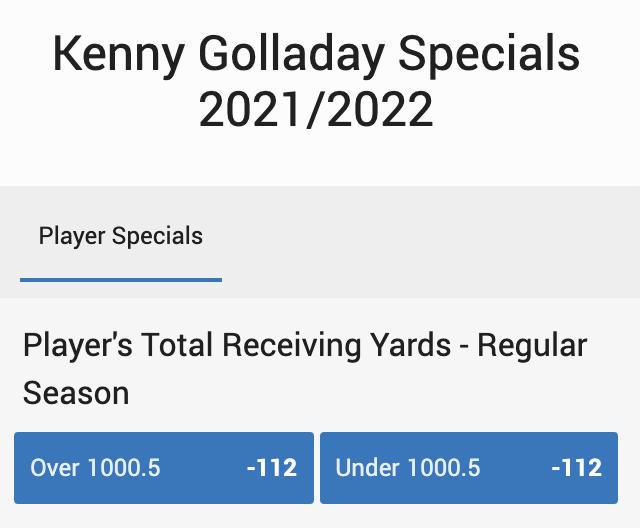 Spesial Kenny Golladay