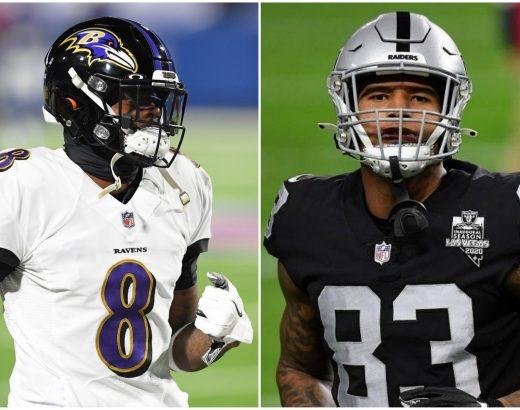 Raiders-Ravens Week 1 odds