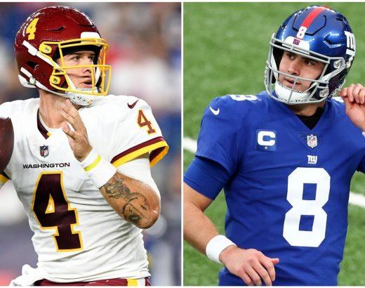 Washington-Giants Week 2 odds