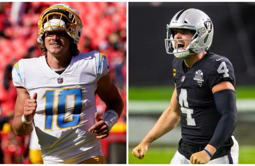 Chargers-Raiders Week 4 odds