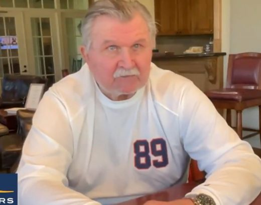 Picture of Mike Ditka predicting nfl betting for week 6